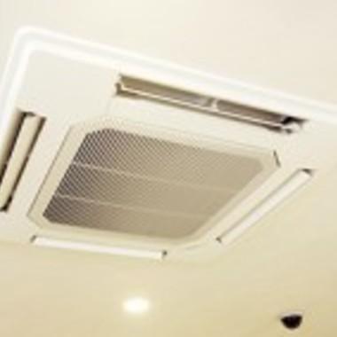 エアコン天井埋込タイプクリーニング後 エコ洗浄