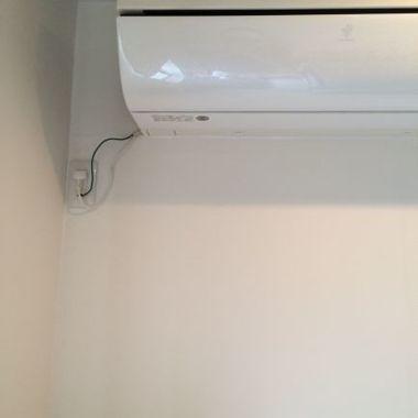 エアコン周りの壁ボード修理 完了