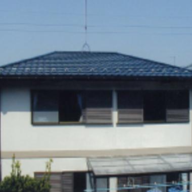 ガルド工事後の屋根
