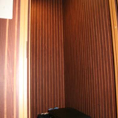 完成後の防音室