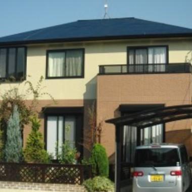 外壁塗装・屋根塗装後の住宅外観