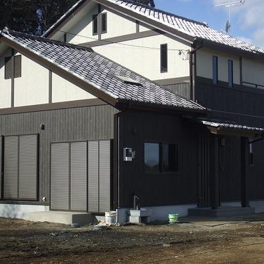 完成後の住宅外観