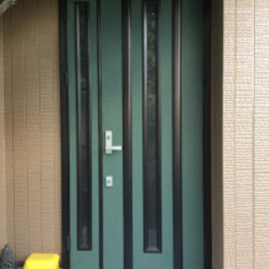 塗装後 玄関ドア