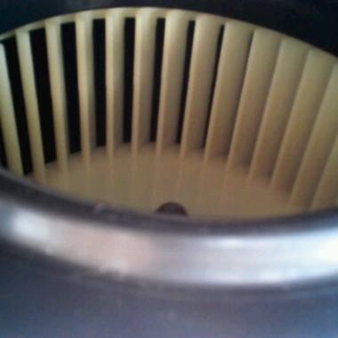 クリーニング後 換気扇内部