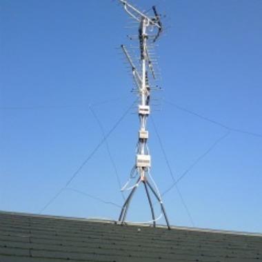 アンテナ 取付 | 地デジアンテナ工事後 屋根
