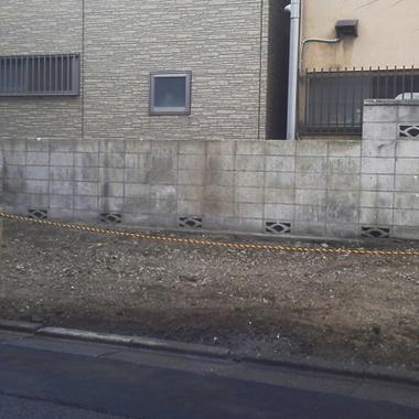 木造家屋 解体工事後 敷地