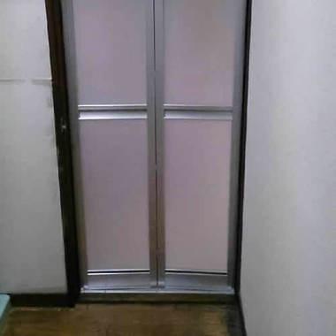 交換後の浴室ドア