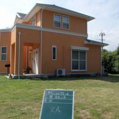 外壁・屋根塗装後 住宅外観