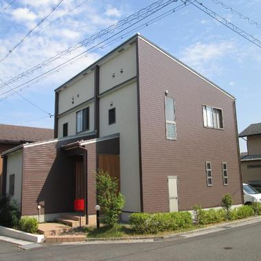 屋根塗装後 住宅外観