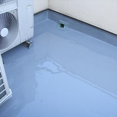 防水工事後 屋上床1