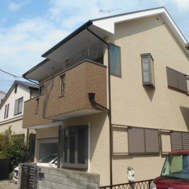 外壁塗装後 住宅外観 横