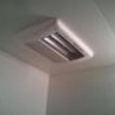 浴室暖房乾燥機設置 後