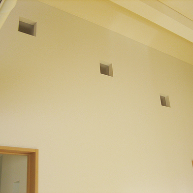 室内改装工事 後 クロス