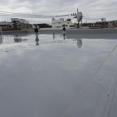 屋上防水工事 完成