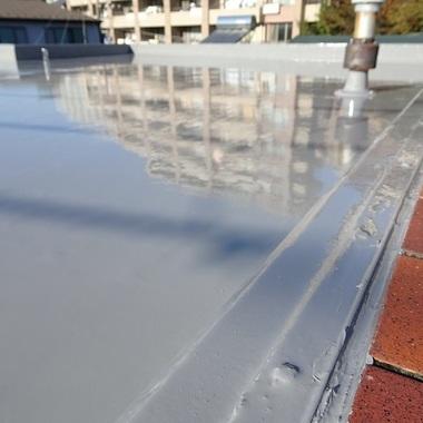 屋上防水工事後 ズーム