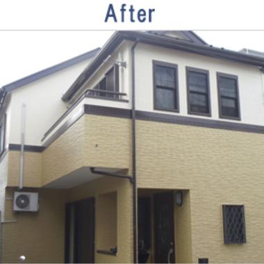 外壁改修塗装工事 完了