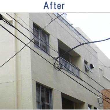 アパート外壁改修塗装工事 完成