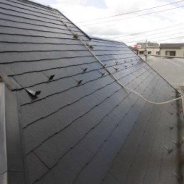 外壁屋根塗装工事後 屋根の状態