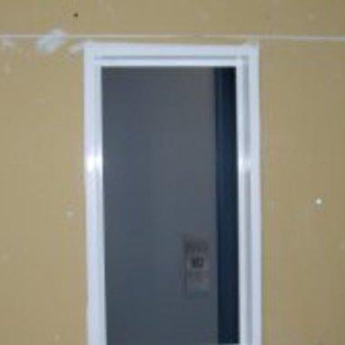 レンタルスペースの木枠塗装 後