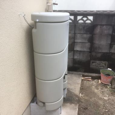 雨水タンク設置工事 レインセラー150