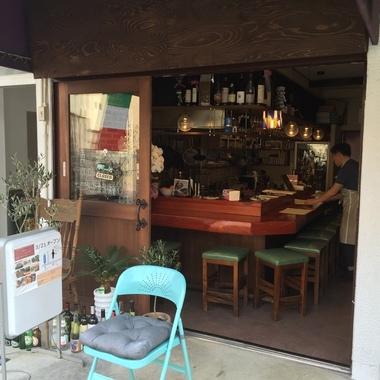 店舗リフォ-ム後 店内入口
