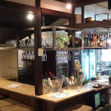 店舗リフォ-ム カウンター