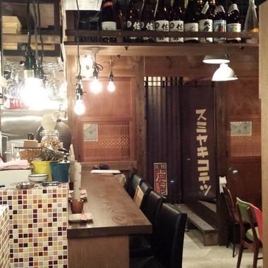 店舗リフォ-ム後 キッチンカウンター