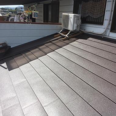 屋根取り付け工事後