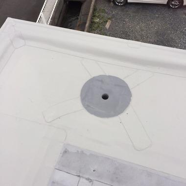 屋根シート防水工事・雨漏り修理 後