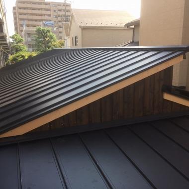屋根取替工事後 屋根