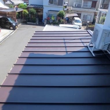 屋根取替工事後