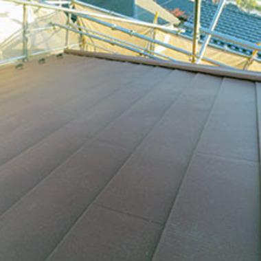 外装リフォーム工事後 屋根