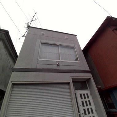 外壁補修後 正面