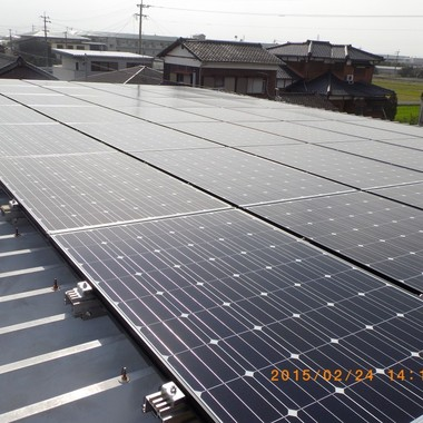 玉名郡長洲町 太陽光パネル設置