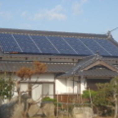福岡市東区 太陽光パネルの設置