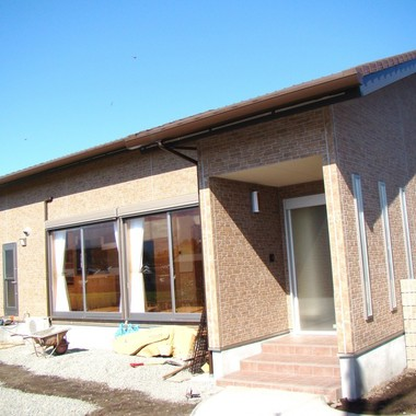 洋風新築工事 煉瓦