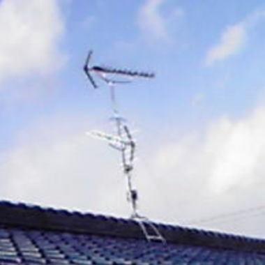 名古屋市南区 地上デジタル対応工事後 アンテナ