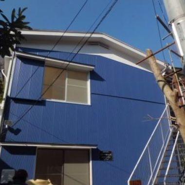 横浜市緑区 アパート外壁塗装後