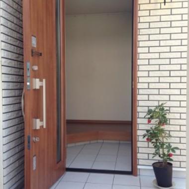 ドア取付・交換後 扉を開けた状態