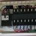 分電盤内の主開閉器を交換後 全体画像