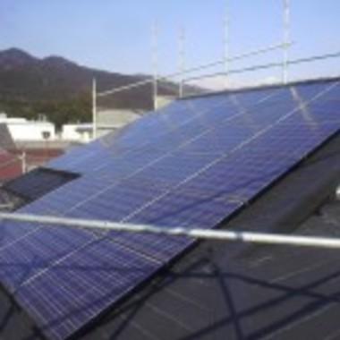 太陽光発電せ設置