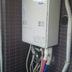 ガス給湯器交換後 リンナイ RUF-A2005AT 20号壁掛け前方丸排気型 MBC-120V マルチリモコンセット