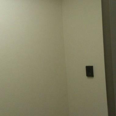 店舗内装工事後 インターフォン