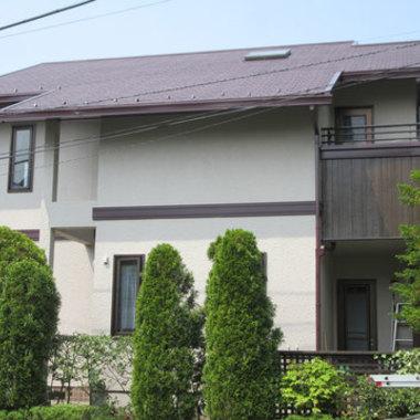 外壁塗装 屋根塗装 完了 横側