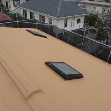 屋根塗装 完了 全体画像