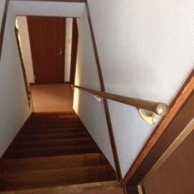 階段手摺り新規取付