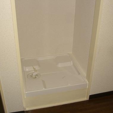 洗濯機置き場新設 洗濯パン