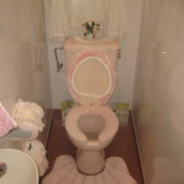 施工前 洋室トイレ