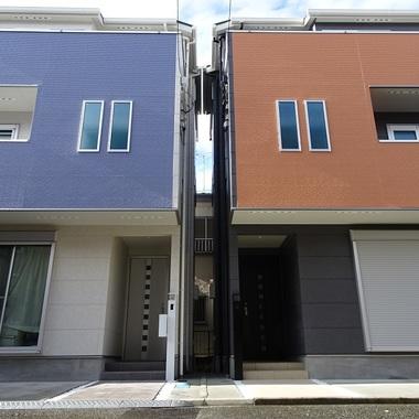 新築工事 住宅外観 正面