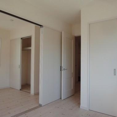 新築工事 洋室